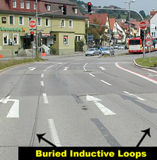 Traffic Light Induction Loops